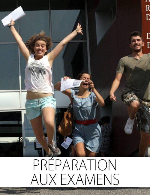 Diplôme: préparation aux examens