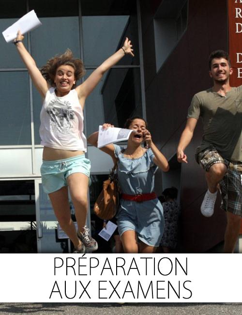examen: préparation aux examens